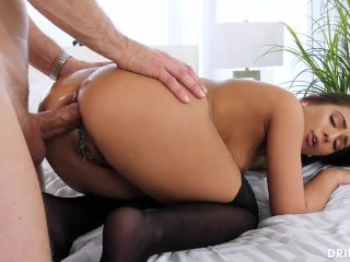 Grannys in stockings threesomes interacial